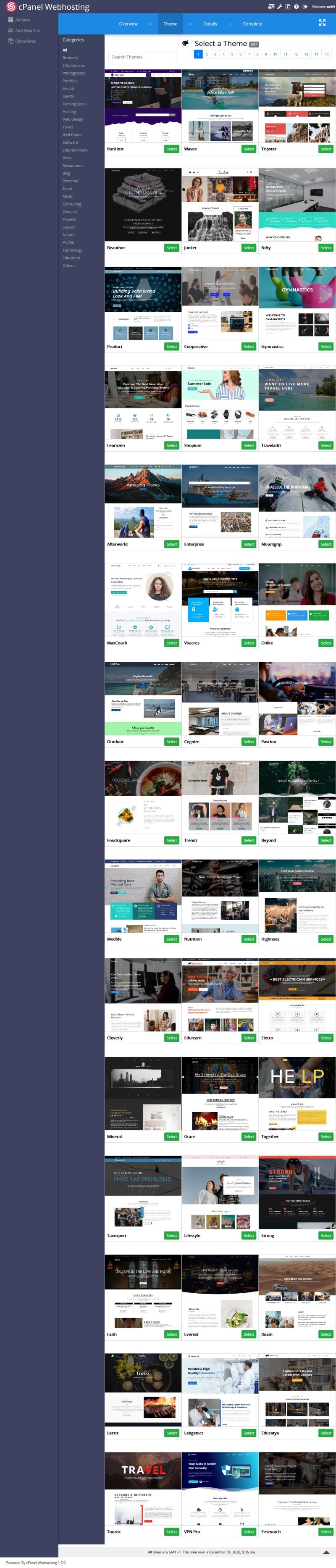 Homepage-Baukasten